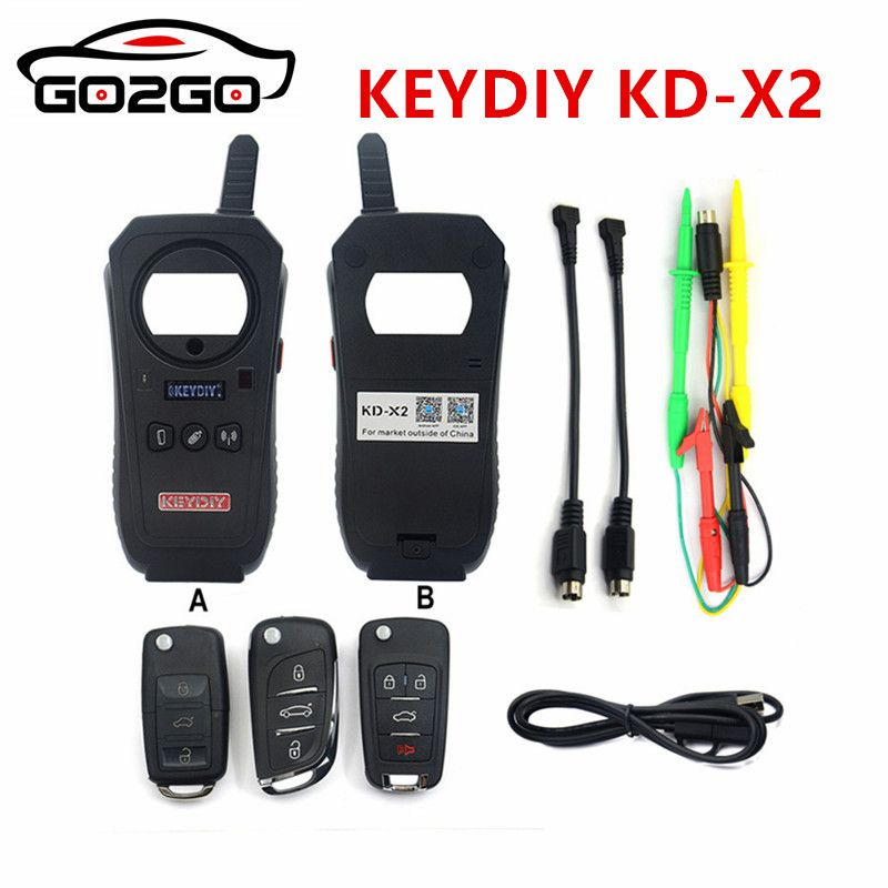 11.11 Promotion Hot Sale KEYDIY KEYDIY KD-X2 Car Key Garage Door Remote kd x2 Generater/Chip Reader/Frequency