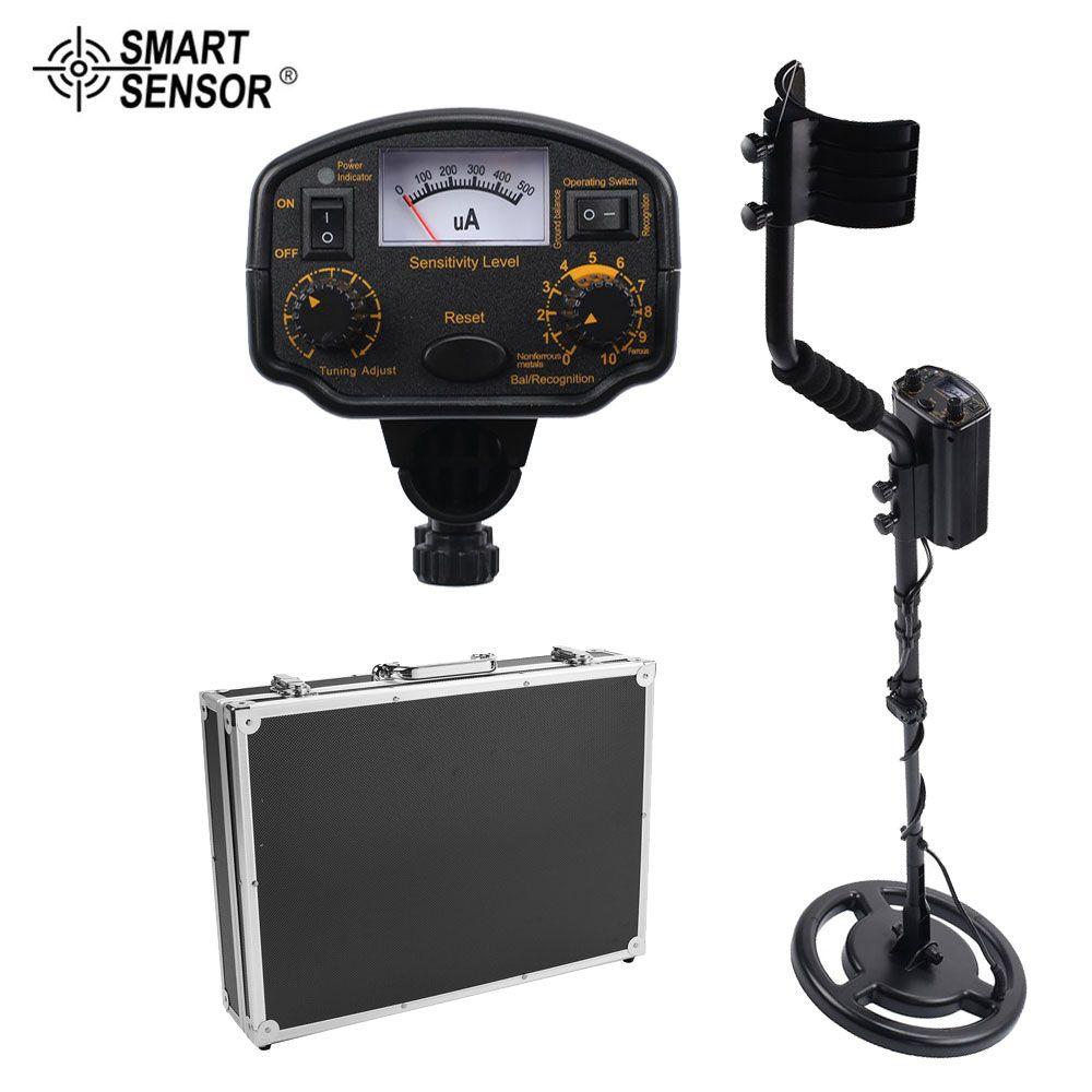 SAMRT SENSOR AS964 Unterirdischen Metall Detektor Handheld Schatz Hunter Gold Digger Finder Empfindliche Einstellbar Scanner Jagd