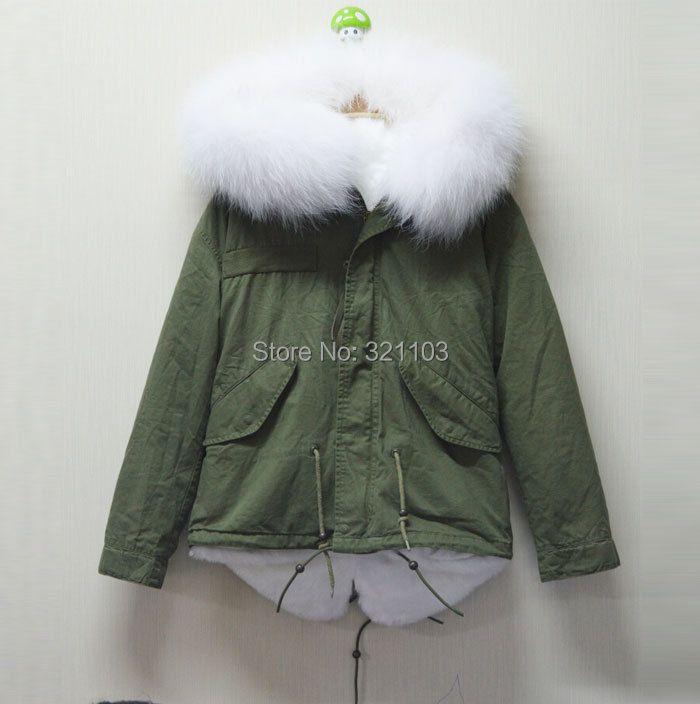 White Mrs real fur collar MR cotton women parka,Women's Faux Fur Winter Jacket Warm Long Hair Overcoat Short Coat