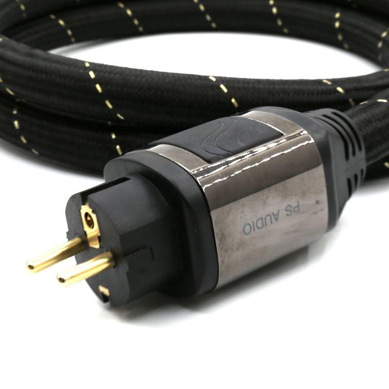 PS AC-12 EUR Schuko power cable hifi power cord Schuko power cord