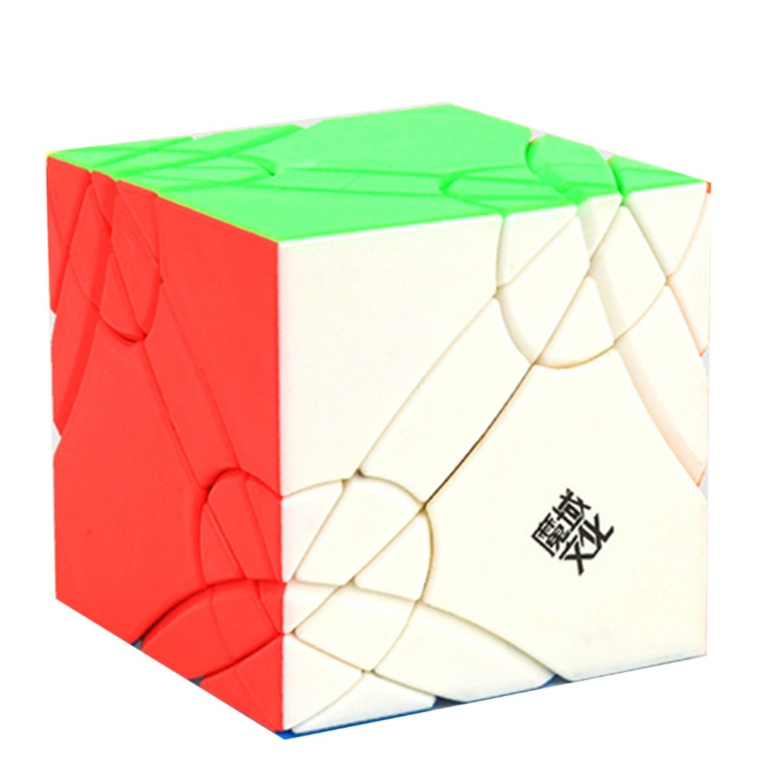 MoYu YJ8252 Axis Time Wheel Creative Magic Cube Puzzle Toys for Challenge - Colorful