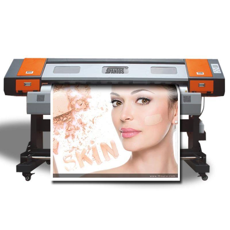 6ft/1,8 m Große Format Outdoor PVC Banner Vinyl Aufkleber Drucker Eco Lösungsmittel Druckmaschine Mit CMYK 4 Farben