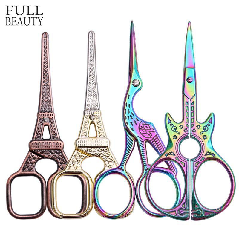 Volle Schönheit Nagel Schere Edelstahl Kappe Häutchen Clippers Chameleon Vogel Maniküre Cutter Remover Make-Up Nail art Werkzeug CHA37