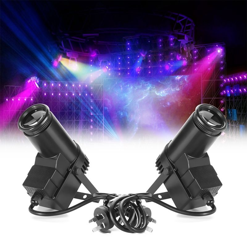 Rgbw свет этапа DMX 10 Вт pinspot луч света Spotlight 6ch Профессиональный Сценическое освещение 220 В/110 В дискотека КТВ DJ Бар