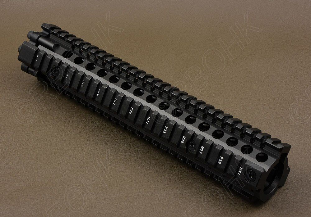 Taktische AR 15 picatinny schiene Handschutz system für gewehr 12 zoll schienen cnc Aluminium alloy schneiden R1172
