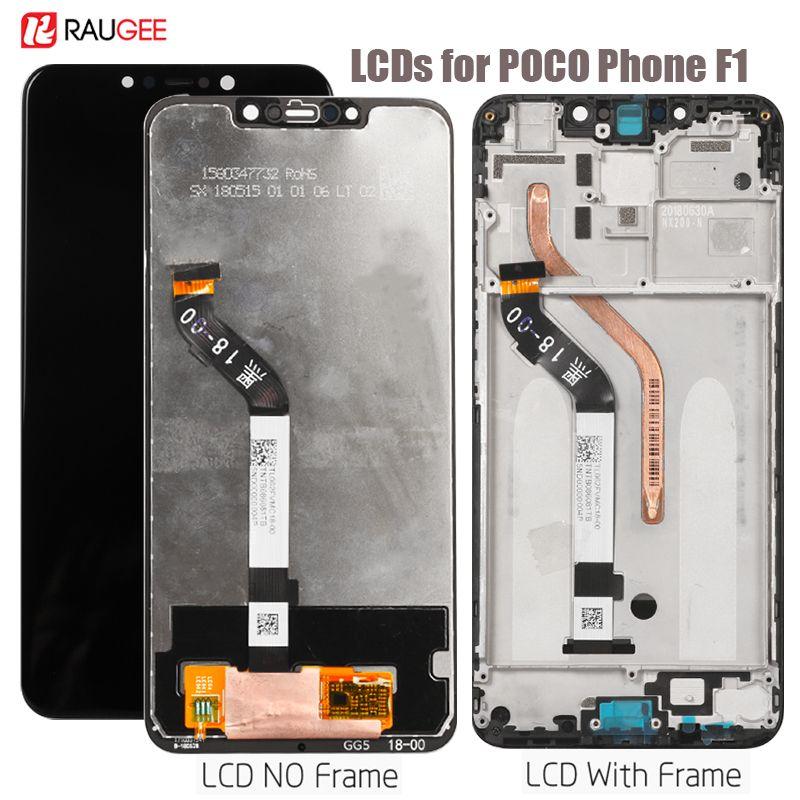 Écran d'affichage Pour PocoPhone F1 Poco F1 Lcd écran tactile D'affichage remplacement du numériseur Pour xiaomi PocoPhone F1 Affichage Lcd 5.5