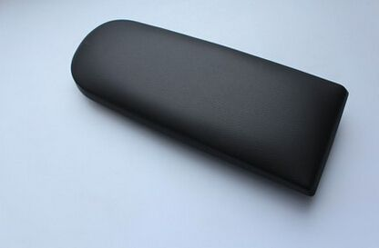 Черные кожаные Центральной Консоли Подлокотник Крышка для VW Jetta Гольф MK4 VW Beetle Мужские поло 6R для Skoda Octavia, стайлинга автомобилей