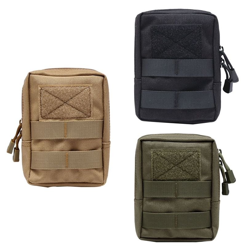 600D Military Tactical Bag Multifunctional Tool Pouch EDC Est  Springs Hinge Hunting Durable Belt Pouches Packs