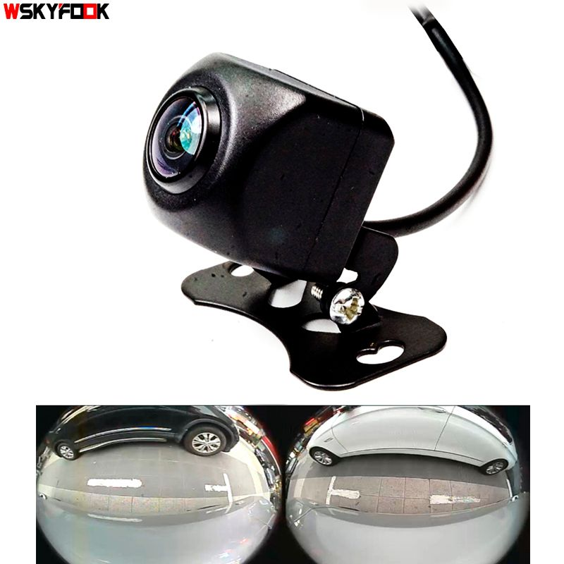 600L CCD HD 180 degree Fisheye Lens car camera Rear / Front view wide angle reversing <font><b>backup</b></font> camera night vision parking assist