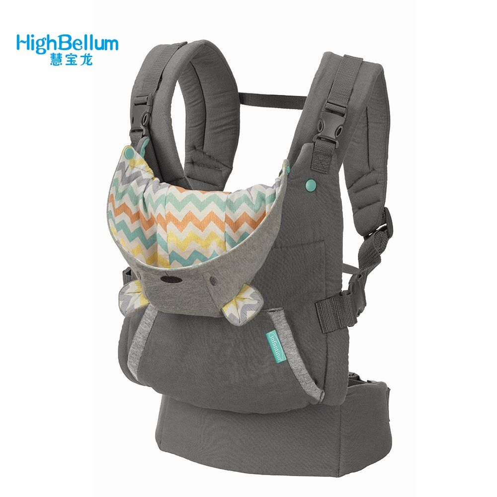 Baby Carrier Sling Portable Child Suspenders Backpack Thickening Shoulders 360 Ergonomic Hoodie Kangaroo Baby Carrier 18KG