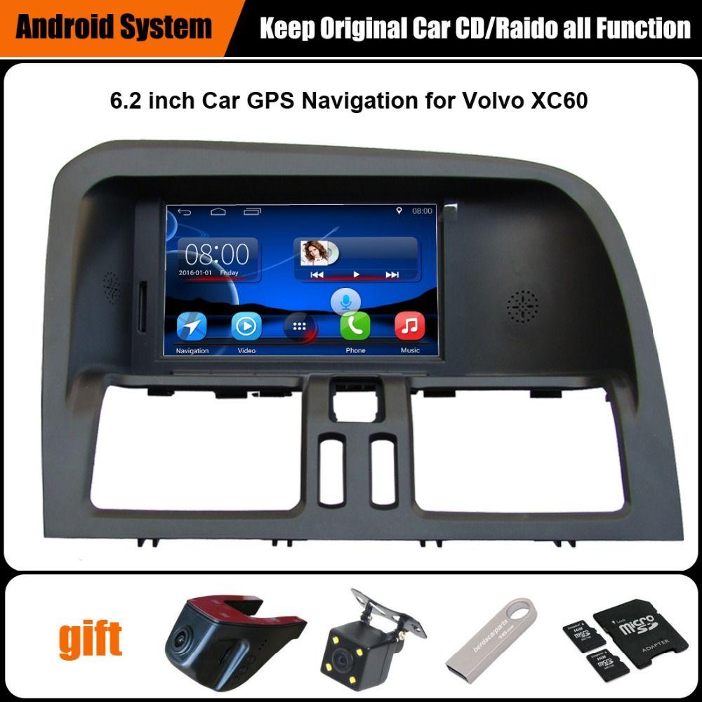 Verbesserte Ursprüngliche Android Auto multimedia Player Anzug VOLVO XC60 GPS GPS-Navigation Bluetooth WiFi