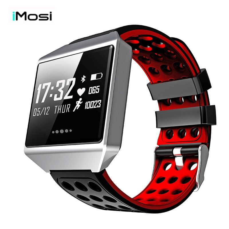 Imosi Smart watch CK12 Watch Blood Pressure Heart Rate Monitor Smart Bracelet Fitness Tracker Smartband for iphone xiaomi