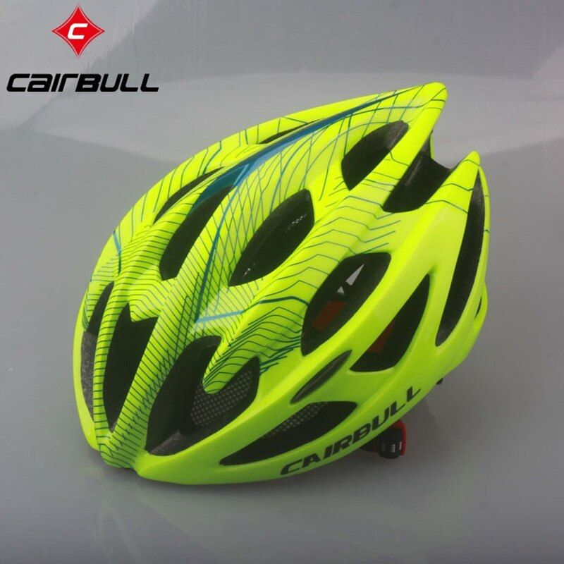 Cycling Helmet Road Mountain Cycle Helmet In-mold 21 Vents Bicycle Helmet Ultralight Bike Helmet Casco Ciclismo CAIRBULL-01 M&L