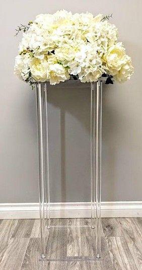 2019 künstliche blume gefälschte blume Blume Vase handwerk decor hochzeit Tafelaufsatz Floral Stehen Spalten Für Hochzeit party