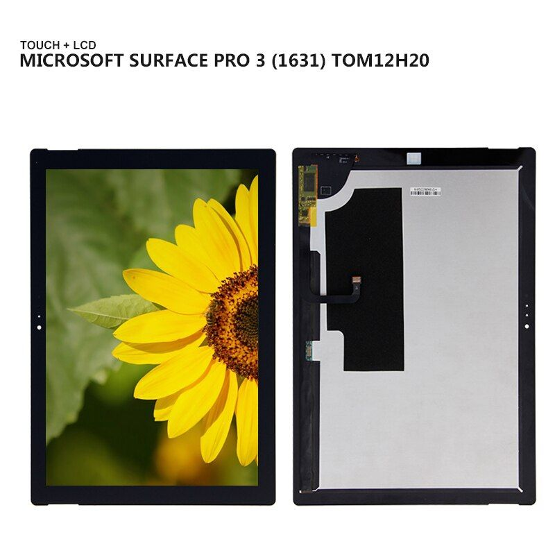 Touchscreen Digitizer Panel LCD Display Für Microsoft Oberfläche Pro3 Pro 3 1631 V1.1 TouchScreen Montage Tablet Reparatur Teile