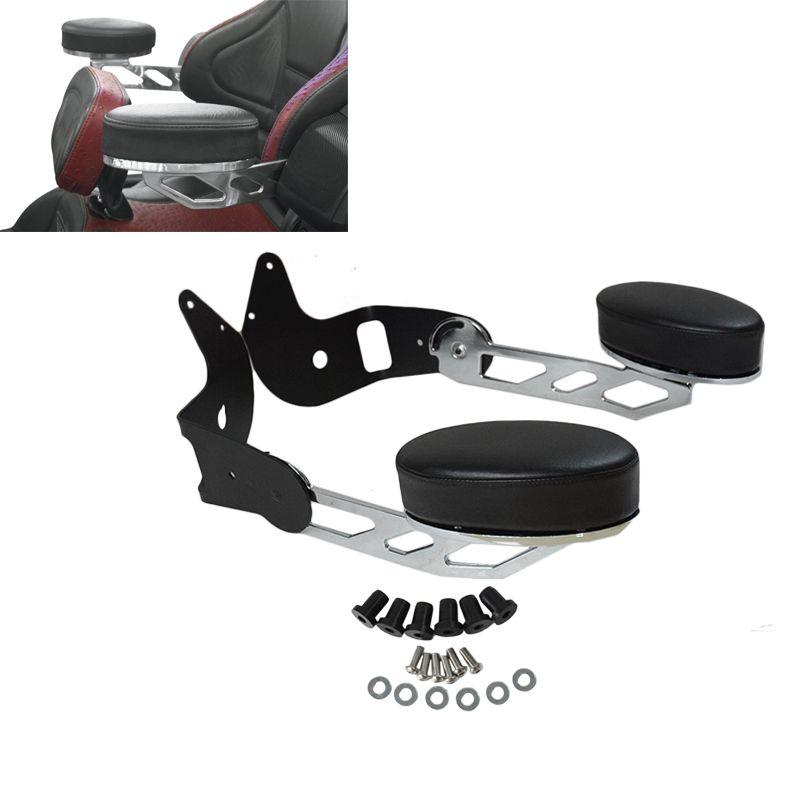 New Chrome Motorcycle Rear Adjustable Passenger Armrests For Honda Goldwing GL1800 2001-2017 16 15 14