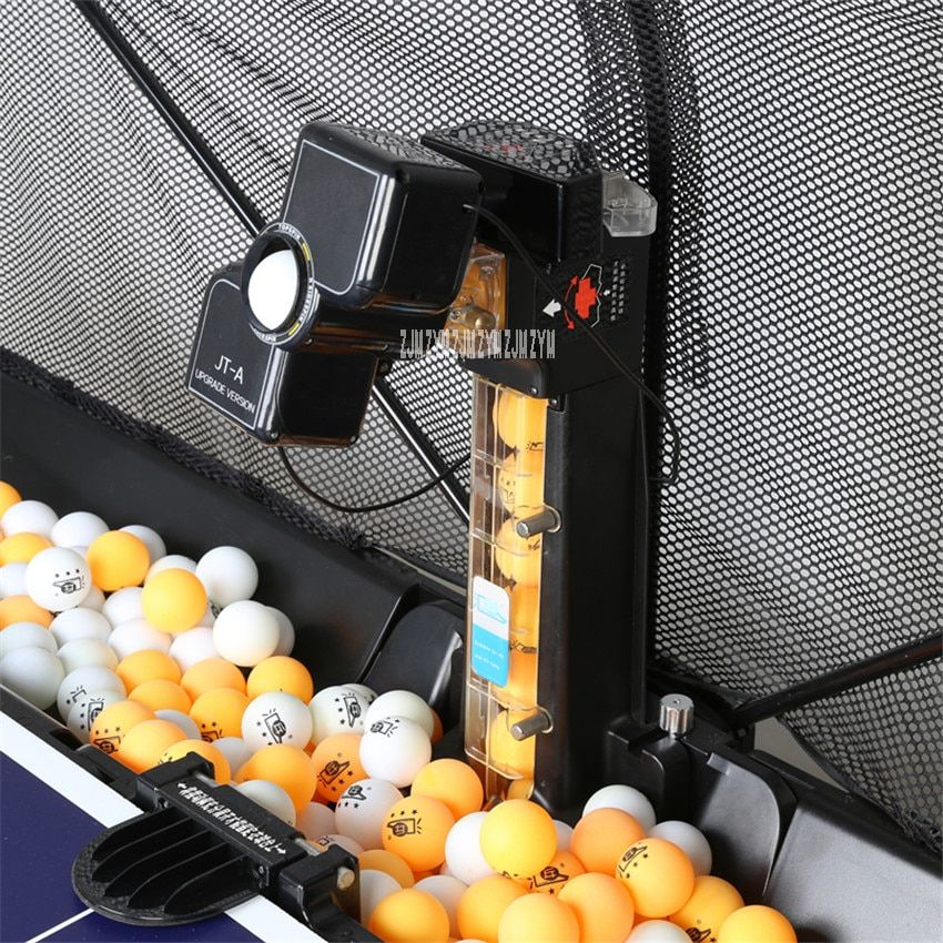 1PC JT-A Table Tennis Robots Ball Machines automatic ball machine 36 spins home practicing machine With a net cover 100-240V
