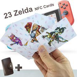 Kompatibel 23 NFC Permainan Kartu untuk Botw Switch Zelda Napas Liar Super Mario Menghancurkan Keranjang 8 Bros Odyddey Splattoon 2 kriby Utama
