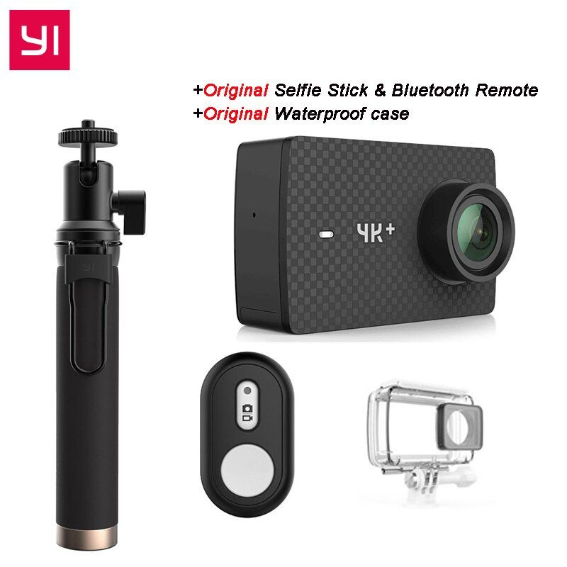 [International Edition] YI 4K Plus Action Camera 155 Degree 2.19