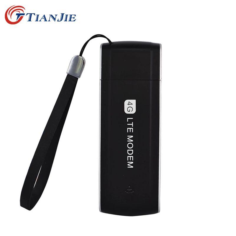 TIANJIE MD901 débloqué universel Portable poche 4G USB Modem Dongle 100Mbps LTE FDD WCDMA EVDO avec fente pour carte sim
