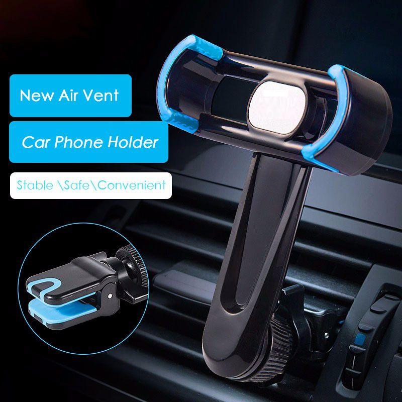 Support de téléphone de voiture pour iphone samsung note xiaomi air vent montage Mobile Téléphone Stand Berceau pour Smartphone GPS Navigation pour livraison