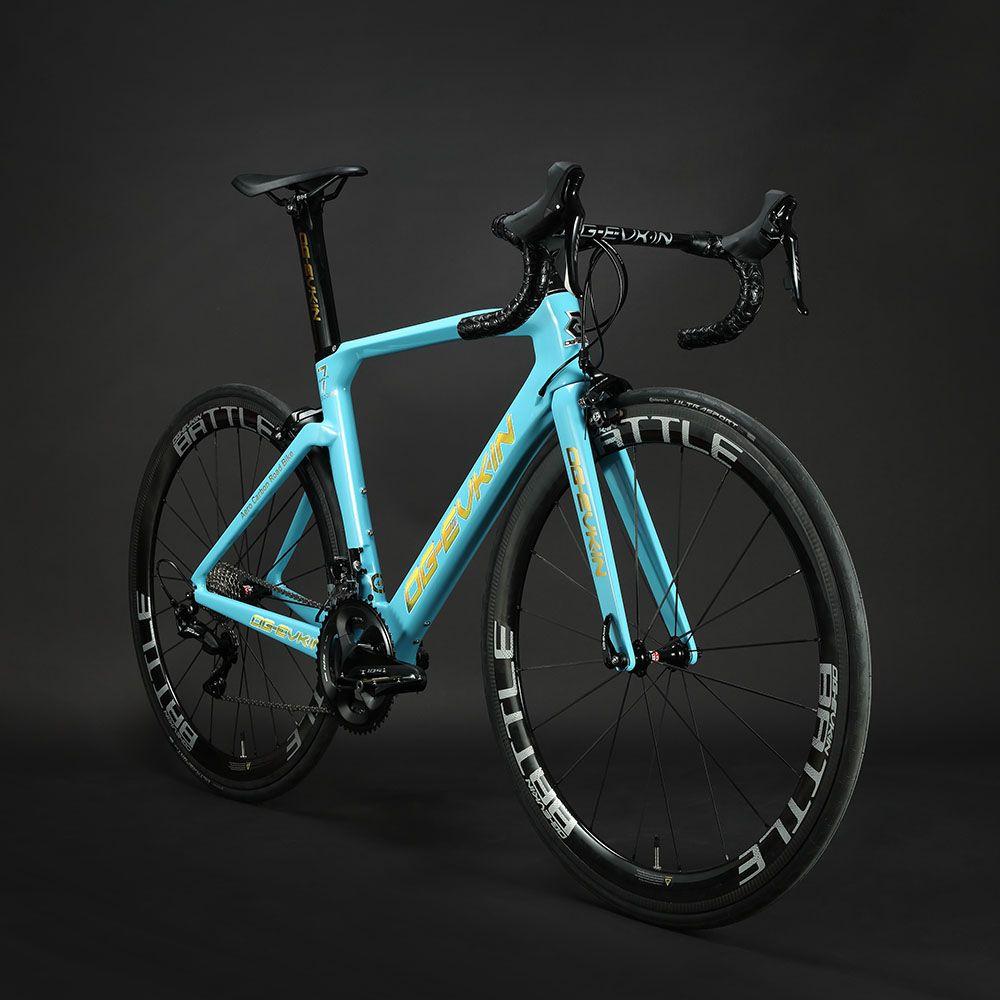 2019 neue T1000 Carbon Rennrad Rahmen UD Glänzend BB386 Di2 Mechanische Frameset Carbon Road Fahrrad 48 50 52 54 cm Schwarz OG-EVKIN