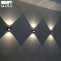 Двунаправленный, настенный светильник led современный для носки в помещении и отеле декоративное освещение для гостиной спальни ночники ТВ ...
