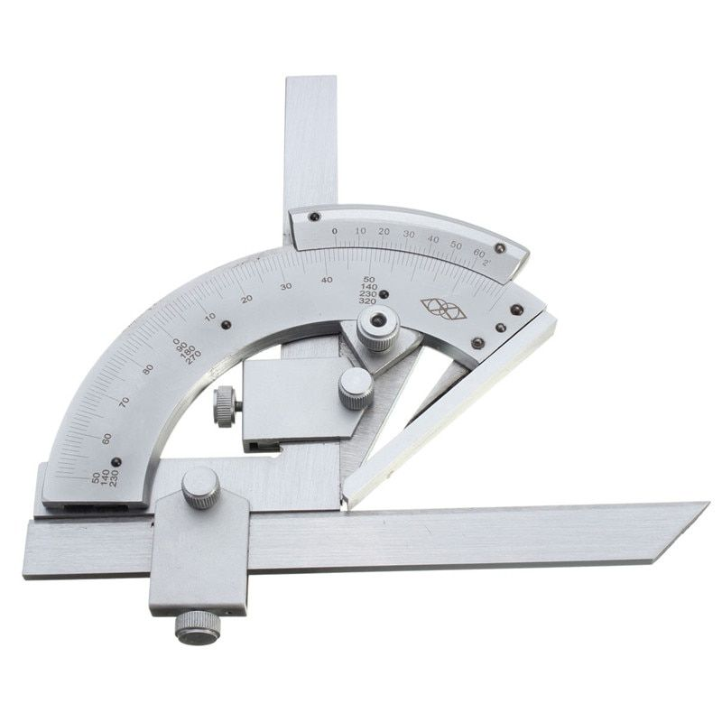 30 to 320 degree Precision Angle Measuring Finder Universal Bevel Protractor Tool Cost Effective Measuring & Gauging Tools