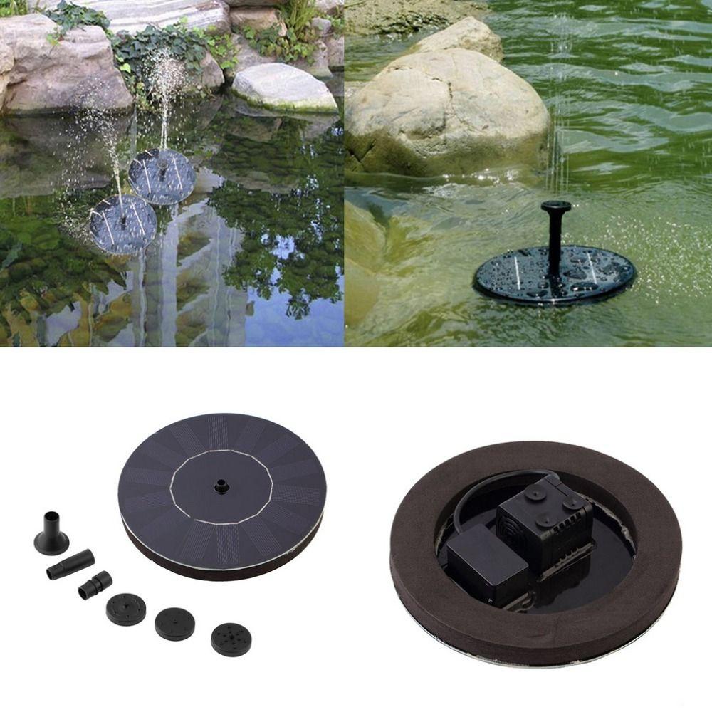 Solar Wasserpumpe 7 V Schwimm Waterpomp Panel Garten Pflanzen Bewässerung Power Brunnen Pool Automatische für Brunnen Wasserfälle Neue