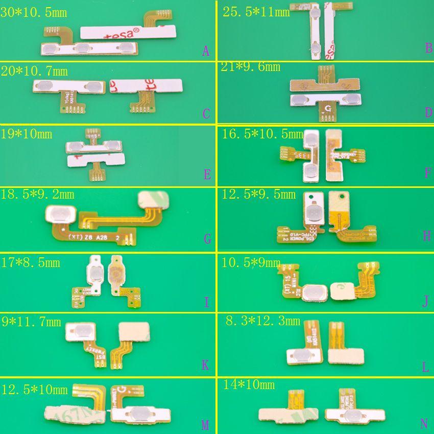 YuXi Inlands intelligente telefon kabel schalter kabel universal power kabel power-taste lautstärketasten