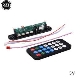 Лидер продаж DC 5 V 12 V Micro USB Питание TF радио MP3 декодер аудио доска для автомобиля дистанционного Музыка Динамик