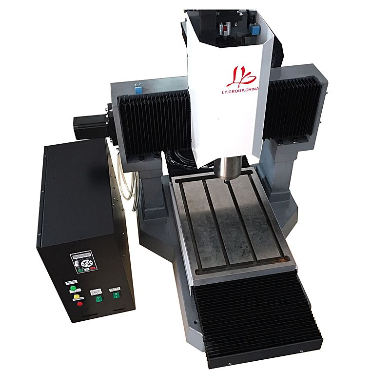 LY 3040 volle gusseisen 2.2KW CNC gravur maschine schritt motor standard version 3 achse Z achse 250mm 220 V
