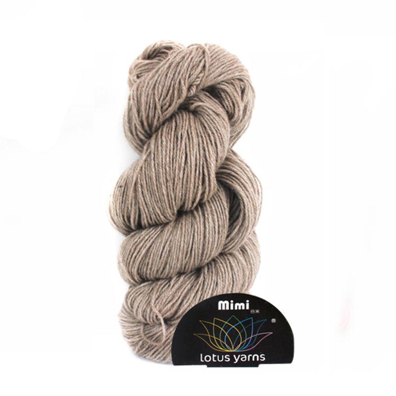 5*50g hank mimi plus mink yarn hand knitting yarn free shipping