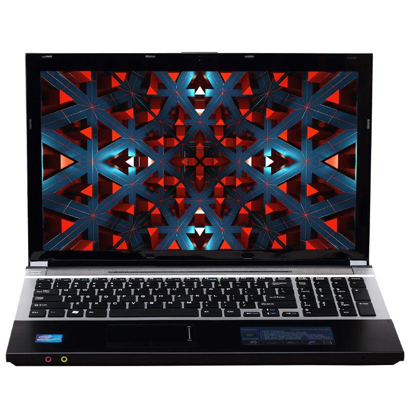 15,6 zoll Intel Core i7 CPU 8 GB RAM + 240 GB SSD + 750 GB HDD Integrierte WIFI Bluetooth DVD-ROM Windows 7/10 Laptop Notebook-Computer