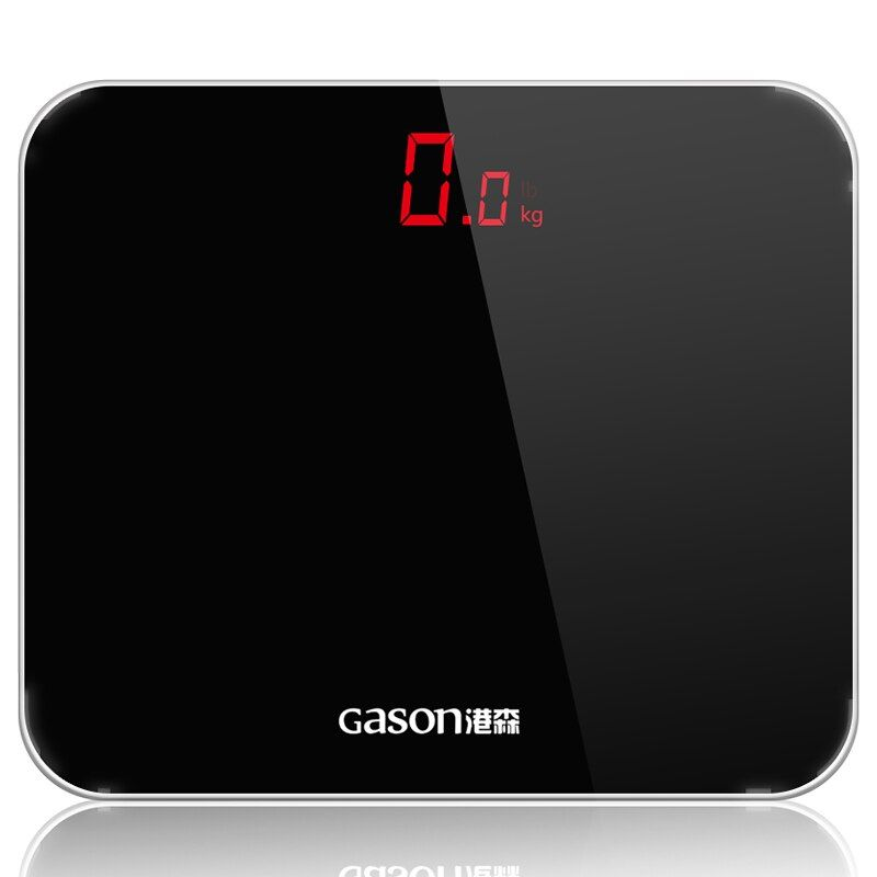 GASON A3 Bathroom Floor Scales Smart Household Electronic Bathroom Digital Body Bariatric LED Display Division Value 180kg=400lb