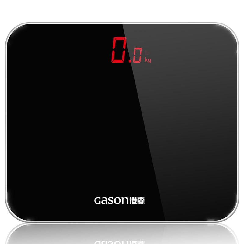GASON A3 Bathroom Floor Scales Smart Household Electronic Bathroom Digital Body Bariatric LED Display Division Value 180kg=400lb