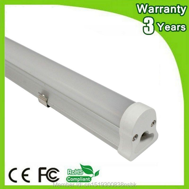 (10 PCS/Lot) puce Epistar 3 ans de garantie 600mm 900mm 1200mm 1500mm 2ft 3ft 4ft 5ft T5 LED lampe fluorescente lumière du jour