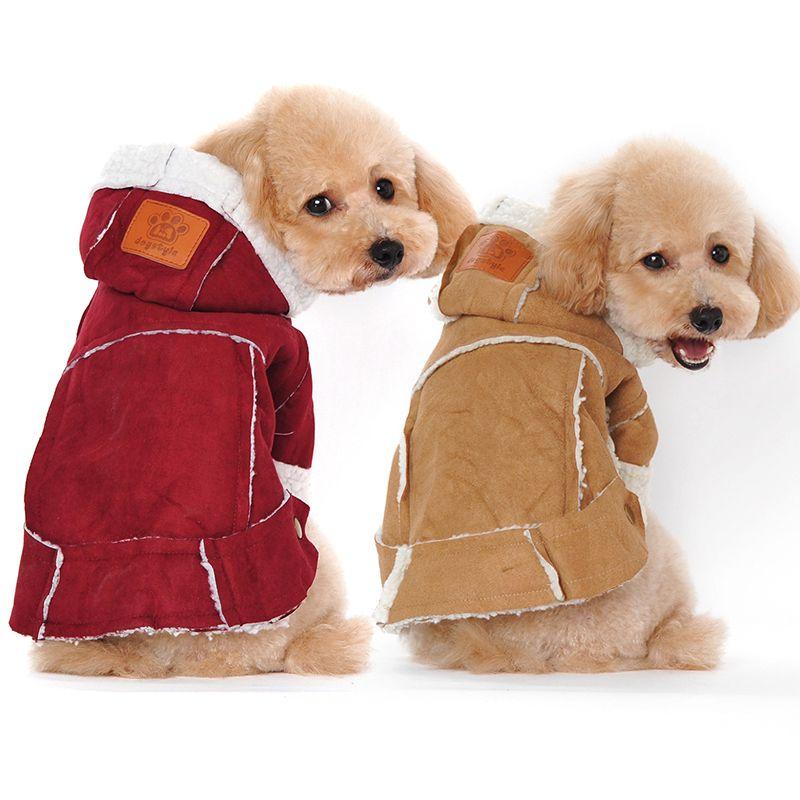 Pet Chien Vêtements D'hiver Vêtements Pour Chiens Grand Épaissir Chien Manteau Veste Chaud Pet Chien Chiot Tenue Pour Chihuahua Ropa perro 20 S1