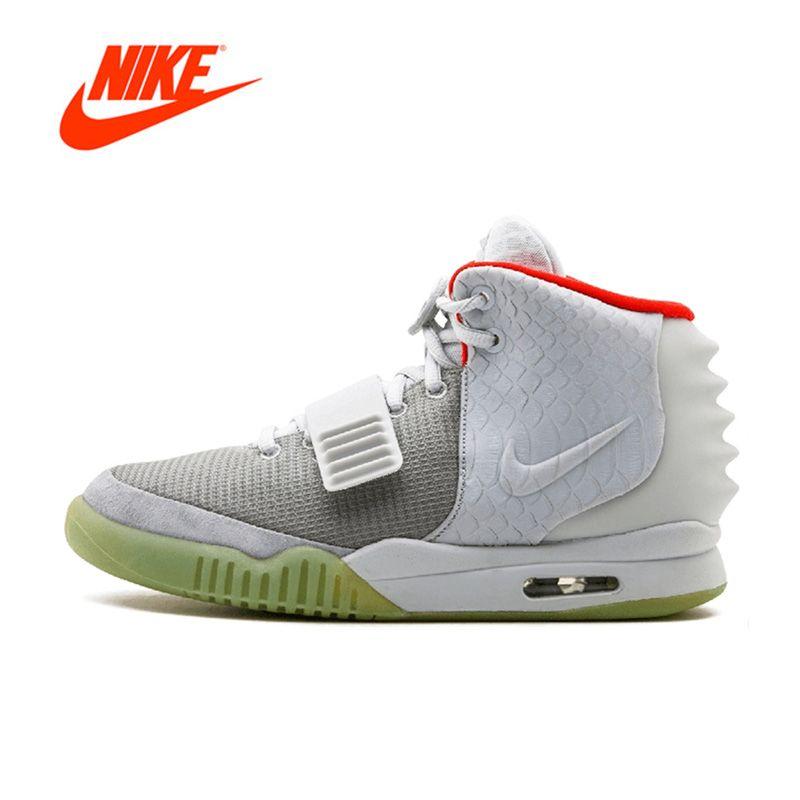 Offizielle Ursprüngliche Nike Air Yeezy 2 NRG herren basketball-schuhe Outdoor sport 508214-010