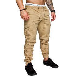 2019 бренд Для Мужчин's Штаны в стиле хип-хоп шаровары, штаны для бега Штаны мужские брюки мужские, штаны для бега, однотонные с несколькими кар...