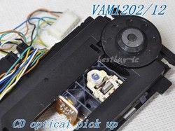 VAM1202/12 with mech CD Optical Pickup VAM1202 /1201 round tube laser lens FOR philips CD Player