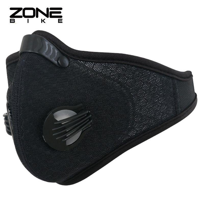 ZONEBIKE Nylon Bike Maske Filter Radfahren Gesichtsmaske Anti verschmutzung Fahrrad-halbe Gesichtsschutz Staubdicht Atmungsaktiv Maske