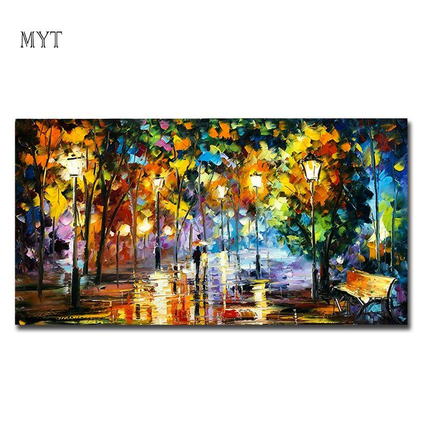 2019 réel peintures peint à la main peinture huile toile beau Couple pour salon mur Art décor maison abstraite photo pas de cadre