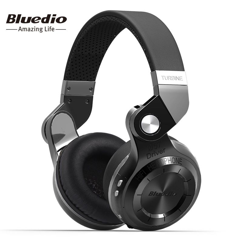 Bluedio original T2S Bluetooth Wireless Headphone Foldable Bass Headset With Microphone for <font><b>Smartphone</b></font> comfortable wearing