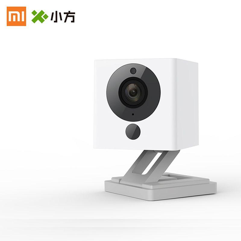 Newest XiaoMi XiaoFang Portable Smart IP Camera Night Vision 1080P F2.0 Large Aperture Ratating Base Magnetic Adsorption