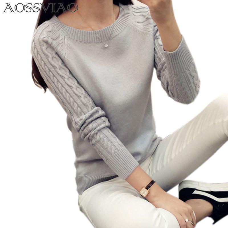 Offre spéciale pull d'hiver femmes col roulé 2019 tricoté à manches longues pull femmes pull et pull femme tricot pull femme Top