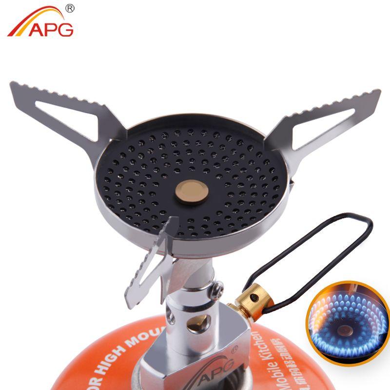 APG antiquemaduras Estufas Portátiles De Gas Mejor Mini Acampar Al Aire Libre Utensilios de Cocina