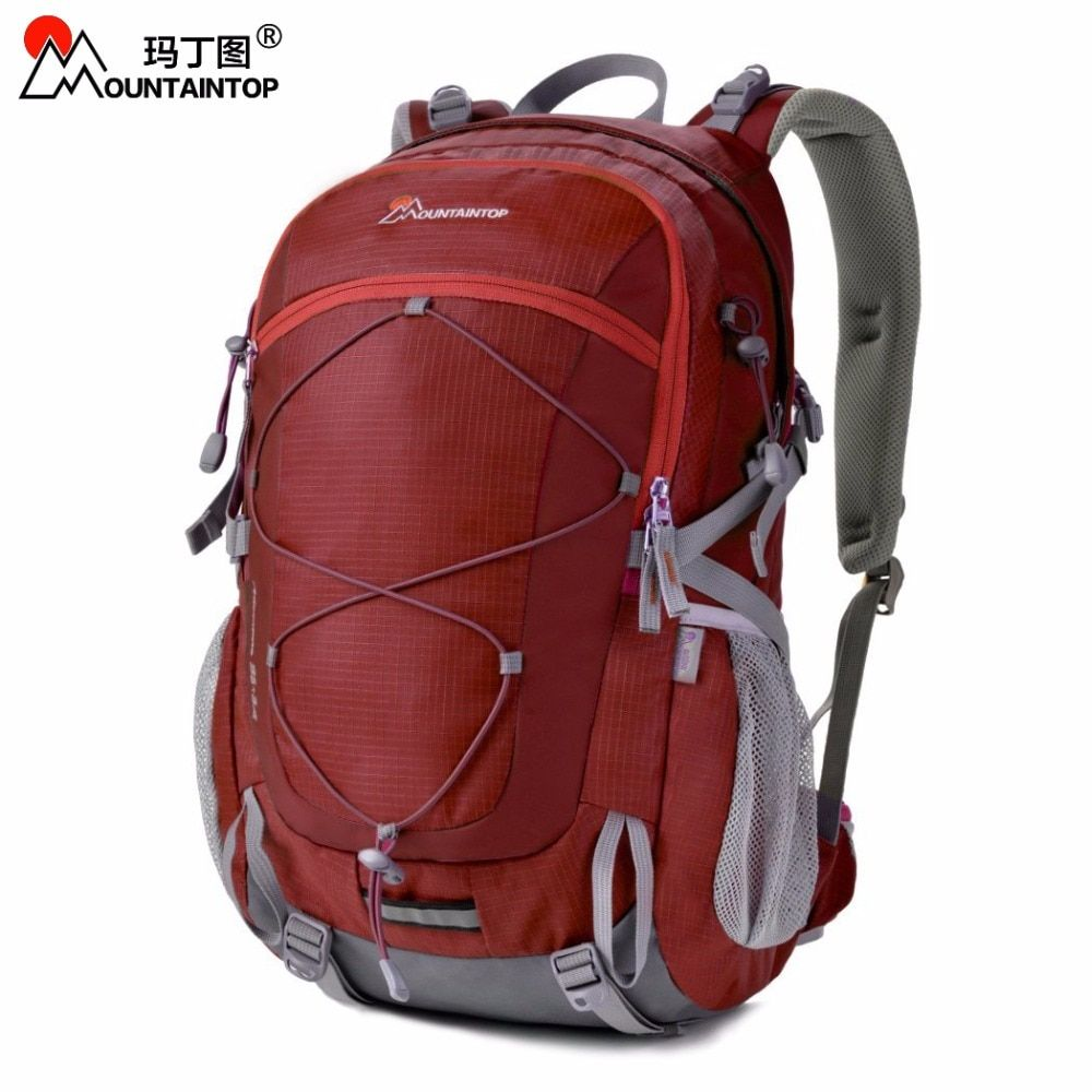 2017 New Arrival High Quality Waterproof Polyester Fabric Climbing Bags 40L Camping Hiking Outdoor Sport Backpack