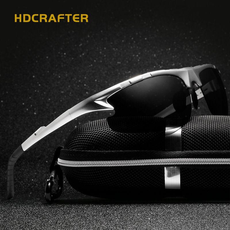 Aluminium magnésium marque Design polarisé hommes lunettes de soleil Sport soleil verre conduite miroir lunettes pour hommes mâle oculos masculino