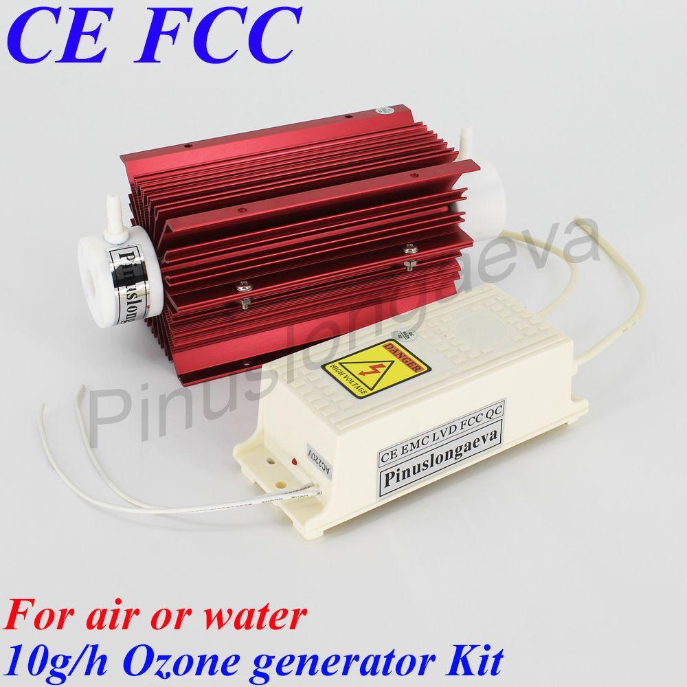 Pinuslongaeva 10 gr/std 10 gramm Quarz rohr typ ozon generator Kit multifunktions ozonator für schwimmen pool ozonisator für fisch farm
